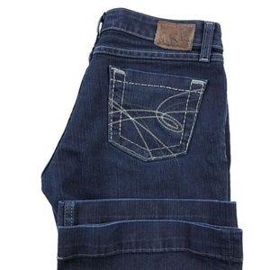 BKE Buckle Sabrina Dark Wash Bootcut Jeans
